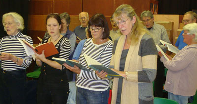 North Curry Choir North Curry Village Hall